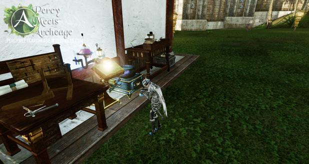 percy makes mana potions blog