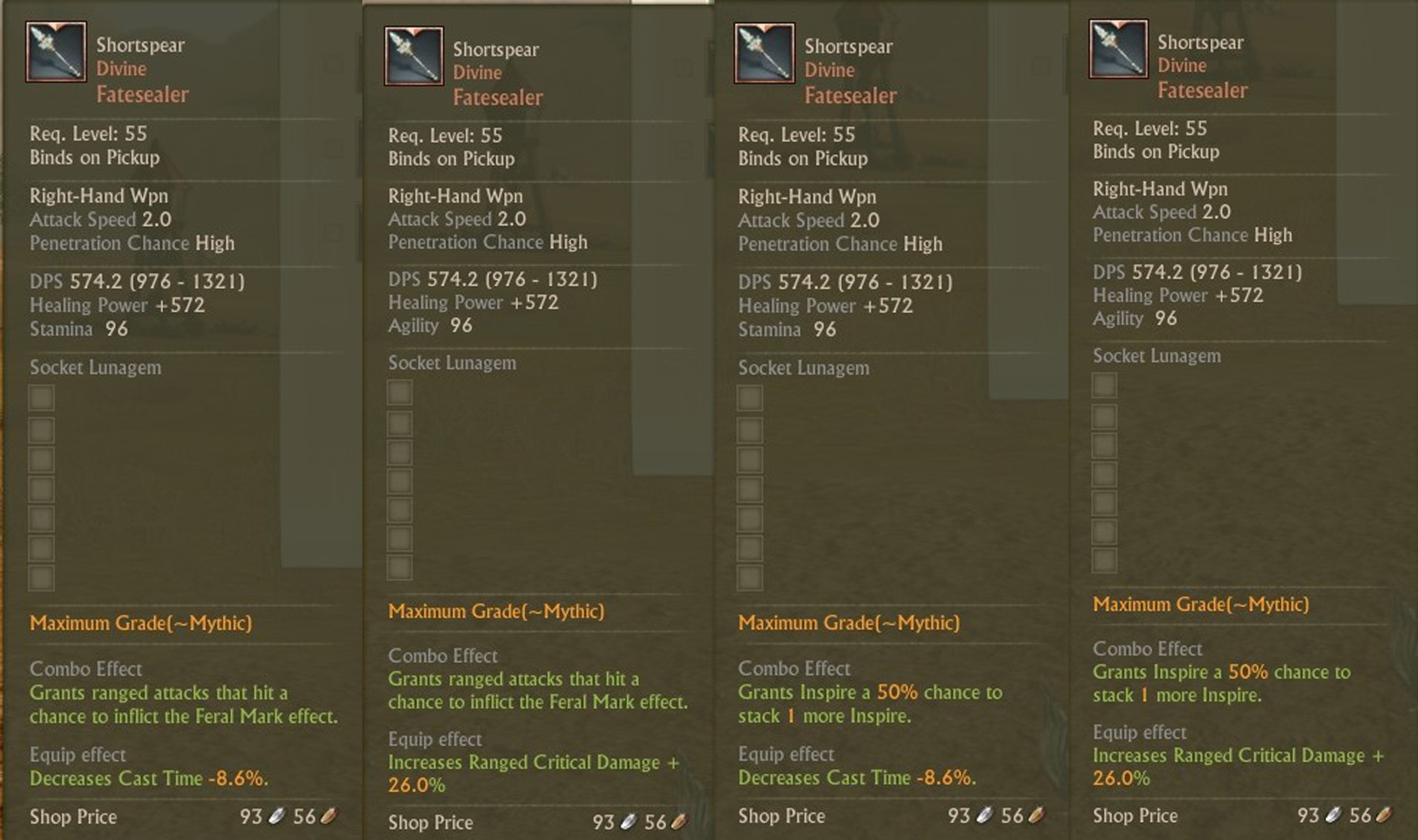 archeage how to get wooden mana wisp