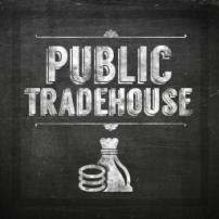 """Chalkboard """"Public Tradehouse"""""""